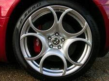 """18"""" ALFA ROMEO SPORT REPLACEMENT ALLOY WHEELS BRAND NEW SILVER 257"""