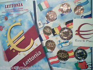 2016 LETTONIA 8 monete 3,88 EURO fdc Lettonie Lettland Latvia Letonia Латвия