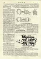 1914 Five Stage Centrifugal Pump Manchester Corporation