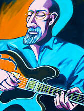 JOHN SCOFIELD PRINT poster jazz a go go cd ibanez electric guitar blue matter