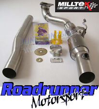 """Milltek SSXAU348 Audi TT MK2 Exhaust 2.0 TFSI 2wd Downpipe Sports Cat Fits 2.75"""""""