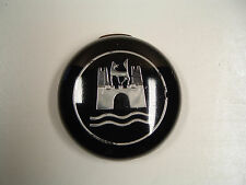 Vintage VW OEM Horn Button Black & Chrome (On hand Ships Today) #2