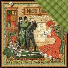 "Graphic 45 Master Detective - MASTER DETECTIVE - 12x12"" Scrapbooking Paper"