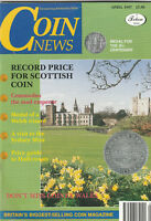 COIN NEWS Magazine April 1997 - Record Scottish Coin, Commodus The Mad Emperor