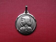 N°69 insigne religieux médaille religieuse Sainte Jeanne d'Arc Orléans