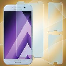2x Samsung Galaxy A3 (2017) Panzer Glas Folie Displayfolie Echt Glas Panzerfolie