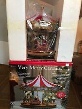 Mr Christmas Very Merry Musical Carousel Led Lights 25 Christmas Carols Animated