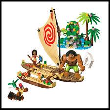 ENLIGHTEN Vaiana Moana Ocean Voyage Model Building Block Toys For Children 41150