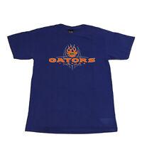 VTG 90s Florida Gators T-Shirt Men's Large Spell Out College University Blue OG