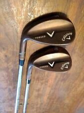 Callaway Forged Copper Plated Wedges 56 * & 60 * w/ Steel Shafts LH