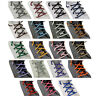 New Multi Color Cotton Waxed Round Cord String Dress Shoe Laces 85cm 1 Pair-IHS