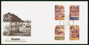Mayfairstamps Niuafoou FDC 1985 Ship Combo Jacob le Maire First Day Cover wwo_58