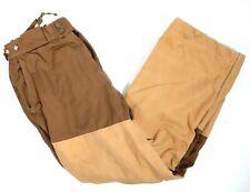 Willis & Geiger Work Pants Mens Size 34 Lined Bush Poplin W&G