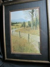 """DON RINGSTROM """"COUNTRY ROADS"""" SIGNED LIMITED EDITION PRINT"""