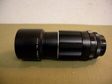 Vintage Asahi Super Takumar Lens 135mm f/3.5 Telephoto with Hood & Case