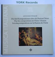 SAWT 9590 - VIVALDI - The Five Compositions On Christ's Passion - Ex LP Record
