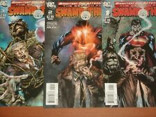 DC Comics:  Brightest Day Aftermath... THE SEARCH FOR SWAMP THING #1 - #3  2011