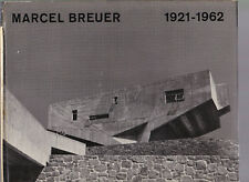 Marcel Breuer: 1921-1962 (architect monograph), text Cranston Jones 1962 HC DJ