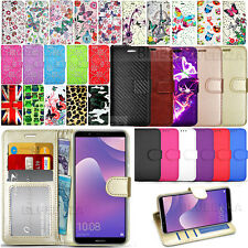 For Huawei Y7 2018 / Y7 Prime / Honor 7C Wallet Leather Case Flip Cover + Guard