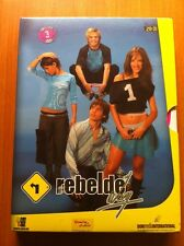 REBELDE WAY - SERIE TV - EPS 20 A 31 CASEBOOK DESPLEGABLE- 3 DVD + 4 POSTALES