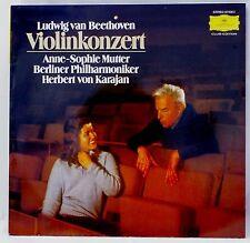 *w- LP - BEETHOVEN - VIOLINKONZERT op.61- Anne-Sophie MUTTER/Herbert von KARAJAN