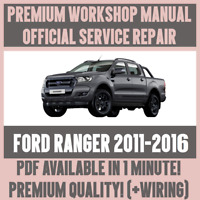 WORKSHOP MANUAL SERVICE & REPAIR GUIDE for FORD RANGER 2011-2016 +WIRING