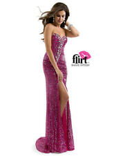 Flirt Maggie Sottero #P5837 Size 14 Pink Prom Homecoming Formal Dress NWT $328