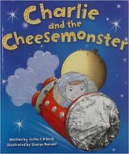 Large Childrens Bedtime Story Charlie & The Cheese Monster Picture Book Gift 041