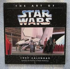 Vintage Star Wars Art Calendar, 1997, Ralph McQuarrie Artwork