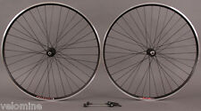 Velocity A23 Black Rims Shimano 105 5800 32h Hubs Wheelset Road & CX Bike Wheels