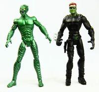 "Marvel Spider-Man  Movie Green & New Goblin Legends 5"" Action Figures"