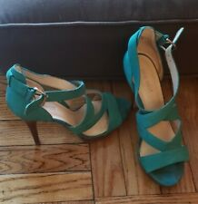 NINE WEST STRAPPY SANDALS SIZE 7 1/2