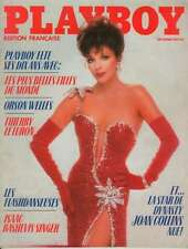 Playboy Dec 83 Joan Collins Issue (French Version)  Classic from her best looks.