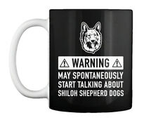 Shiloh Shepherd Dog Dog Home protected by Good Lord and Novelty Metal Sign