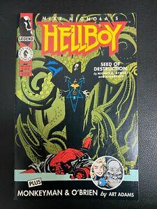 Hellboy: Seed of Destruction #3 VF/NM Dark Horse, Mignola COMIC