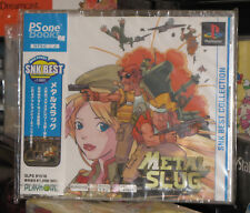 Metal Slug (PS One Books, 2006) New Factory Sealed Japan Playstation PS1 Import