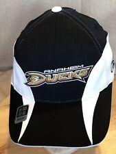 Anaheim Ducks NHL CCM Reebok Flexit Mighty Ducks Hat Stretch Fit Brand New