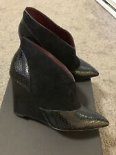 Authentic Brand New In Box Marc Jacobs Black Ankle Boots Size 36 Rrp$599