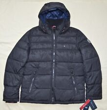 a582002ad87c9 XXL 2xl Tommy Hilfiger Mens Quilted Padded Puffer Winter Jacket Coat Black