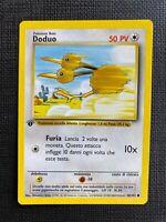 Pokemon Doduo 1st Edition Base Set #48/102 NM-M (T) (I T A L I A N)