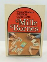 Vintage Mille Bornes French Card Game Parker Brothers 1971 MT
