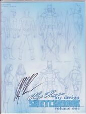COMIC CON ALEX ROSS TOY DESIGN SKETCHBOOK LIMITED EDITION SIGNED BY ALEX ROSS NM