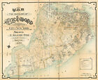 1906 Map of the Borough of Richmond, City of New York Staten Island Wall Poster