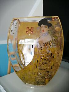 Vase Gustav Klimt Goebel artis Adele Bloch Bauer gebraucht