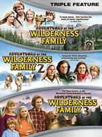 The Adventures of the Wilderness Family Triple Feature [New DVD] 3 Pack