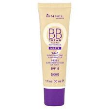 Rimmel BB Cream 9-in-1 Perfecting Super Makeup Matte - Light -SPF15 -30ml -