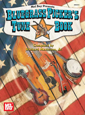 """Bluegrass Picker's Tune Book"" FRETTED INSTRUMENTS MUSIC BOOK-BRAND NEW ON SALE!"
