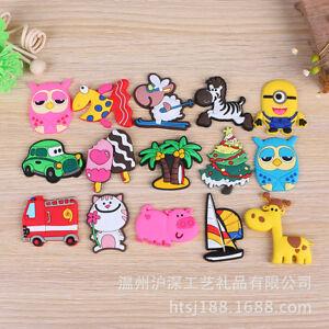 Fridge Magnet 4 Sets Of Funny Cartoon Animals Owl Cat Fish Pig Zebra Giraffe