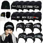 Women's Men's Hat Unisex Warm Winter Knit Fashion cap Hip-hop Beanie Hats New