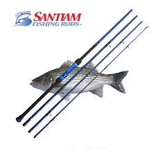 "SANTIAM FISHING RODS 4 PC 11'0"" 17-40LB SURF CASTING ROD ALASKAN TRAVEL SERIES"